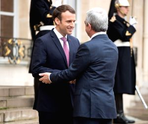 FRANCE PARIS ARMENIAN PRESIDENT VISIT