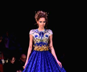 FRANCE PARIS FASHION WEEK HAUTE COUTURE GUO PEI