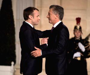 FRANCE PARIS ARGENTINA PRESIDENT VISIT
