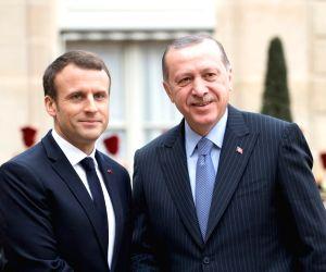 FRANCE-PARIS-TURKISH PRESIDENT-VISIT