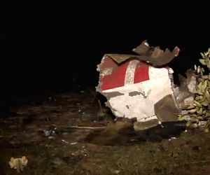North Mali: Air Algerie plane crash