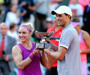 FRANCE PARIS TENNIS FRENCH OPEN 2015 MIXED DOUBLES FINAL