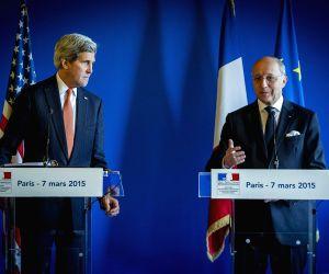 FRANCE PARIS US KERRY IRAN NUCLEAR DEAL