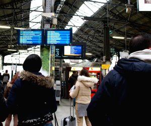 FRANCE-PARIS-RAILWAY-STRIKE
