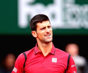 FRANCE-PARIS-TENNIS-ROLAND GARROS 2016-DAY 3 -Novak Djokovic