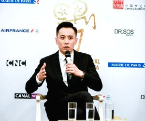 PARIS, May 29, 2018 - Chinese actor Liu Ye speaks at a press conference on the 8th edition of Chinese Film Festival in France (FCCF) on May 28, 2018. The film festival runs from May 28 to July 10 in ...