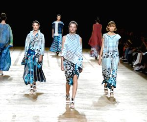FRANCE-PARIS-FASHION WEEK-ISSEY MIYAKE