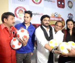 Press conference - Manoj Tewari, Babul Supriyo, Dino Morea