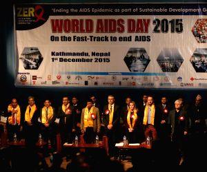 NEPAL-KATHMANDU-WORLD AIDS DAY