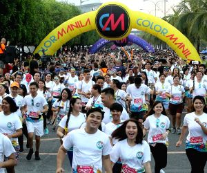 PHILIPPINES-PASAY CITY-2018 COLOR MANILA RUN