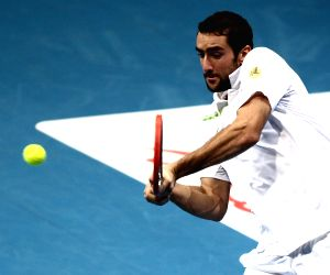 Pasay City (Philippines): International Premier Tennis League - Gael Monfils v/s Marin Cilic