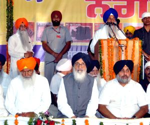 Punjab CM and Deputy CM during a religious procession