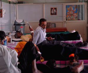Stirke at Jaynagar Public hospital