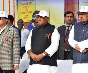 Bihar CM during a programme organised on World AIDS Day
