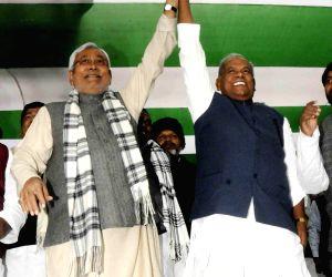 Bihar CM, Nitish Kumar pay tribute to Baba Saheb Dr. BR Ambedkar of his 'Mahaparinirvan Diwas