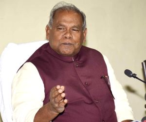 Press conference - Jitan Ram Manjhi