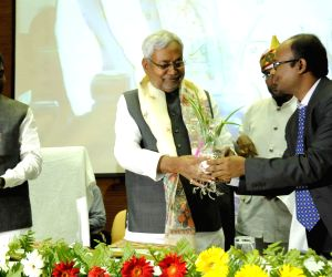 Nitish Kumar during 2nd Entrepreneurship Summit