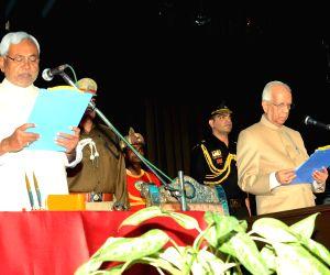 Nitish Kumar's swearing-in ceremony