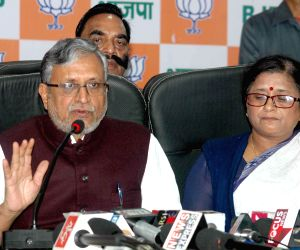 Sushil Kumar Modi's press conference