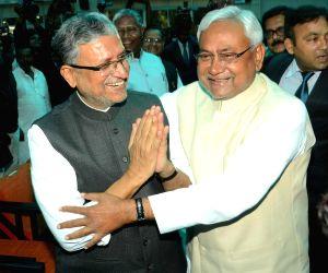 Nitish Kumar's swearing-in ceremony - Sushil Kumar Modi