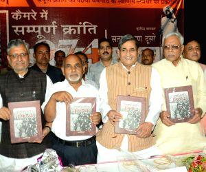 BJP leaders launch photo book on 1974 Sampoorna Kranti