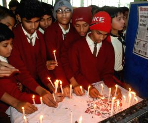 Students protest against Peshawar school attack