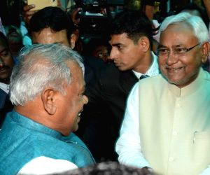 Nitish Kumar's swearing-in ceremony - Manjhi