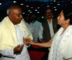 Nitish Kumar's swearing-in ceremony - Mamata Banerjee