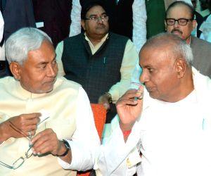 Nitish Kumar's swearing-in ceremony - H D Deve Gowda