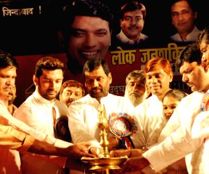 Ramvilas Paswan during a party programme