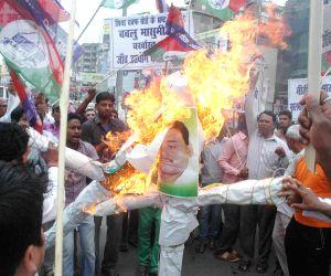 LJP demonstration against Waqf board