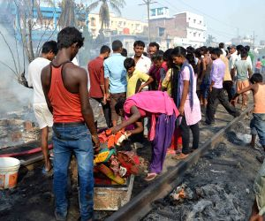 Fire in Shivpuri