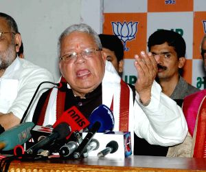 Kalraj Mishra's press conference