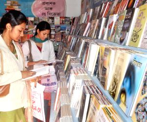 People visit 15th North East Book Fair 2013