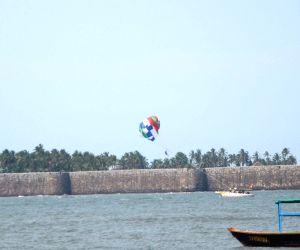 Sindhudurg Fort -paragliding