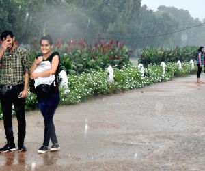 Light rains in some parts of Delhi