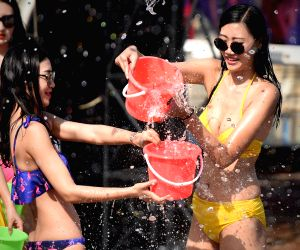 CHINA-SHENYANG-WATER SPLASHING FESTIVAL