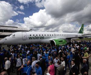 BRAZIL SAO JOSE DOS CAMPOS EMBRAER E190 E2 DELIVERY