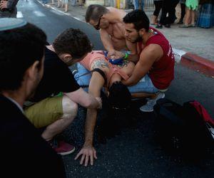 MIDEAST JERUSALEM GAY PARADE STABBING ATTACK