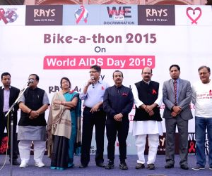 'Bike-a-thon' on World AIDS Day