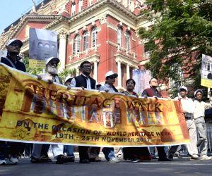 World Heritage Week - West Bengal Heritage Commission organises Heritage Walk