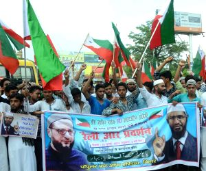 Rally in support of Zakir Naik,