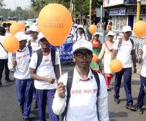 : Kolkata: Awareness rally ahead of World Thalassemia Day