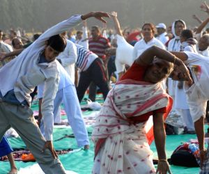 Ramdev's Yoga camp