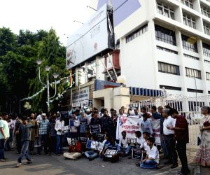 Demonstration against hike in fuel prices