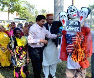 Protest against Union Carbide
