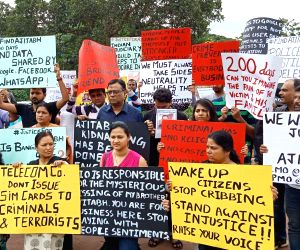 People's demonstration over missing Bengaluru techie