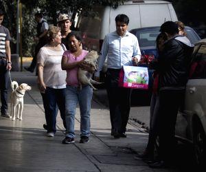 MEXICO MEXICO CITY ENVIRONMENT EARTHQUAKE