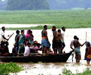 Maner (Bihar) : Floods