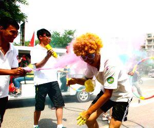 CHINA SHANDONG HAIYANG COLOR RUN